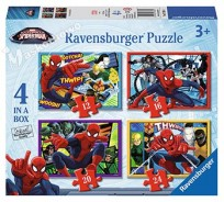 Puzzle Spider Man 4in1 (R073634) Ravensburger