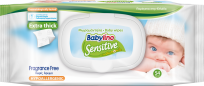 """Babylino Sensitive"" mitrās salvetes"