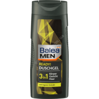 dušas želeja Balea Men Ready! 3 in 1 300 ml