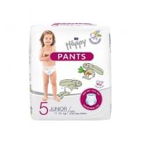 Bella Happy Pants Junior biksītes 5 izm. (11-18kg) 22gab.