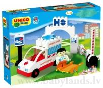 Konstruktors Androni Giocattoli Ambulance 8543
