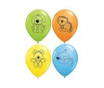 Baloni QUALATEX Dzīvnieki  28cm,