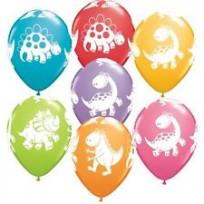 Baloni 28cm QUALATEX Dino