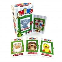 Galda spēle  3+ Memo Dzīvnieki R-501