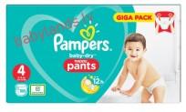 Pampers baby-dry Pants 4 (9-15kg) 108gb. ( biksītes )