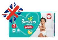 Autiņbiksītes -biksītes Pampers baby dry Pants 3 (6-11kg) 44 gb.