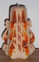 Grieztā svece S02K03 12cm