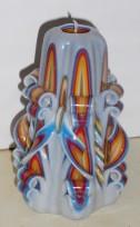 Grieztā svece S12K02 12cm