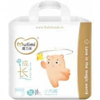 Autiņbiksītes-biksītes Mulimi XXL 15+ kg 36gab