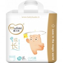 Autiņbiksītes-biksītes Mulimi XXXL 17+ kg 34gab